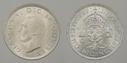 World Coins - GREAT BRITAIN: 1942 Florin