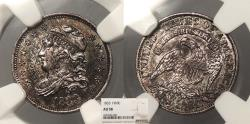 Us Coins - 1833 Capped Bust 5 Cent (Silver) NGC AU-58