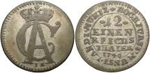 World Coins - GERMAN STATES: Munster Bishopric 1746 1/12 Thaler