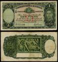 World Coins - AUSTRALIA Commonwealth Bank of Australia ND (1942) Pound Fine+
