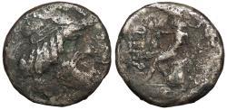 Ancient Coins - Arabia Kings of Characene Attambelos I 44/43-40/39 B.C. Tetradrachm About Fine
