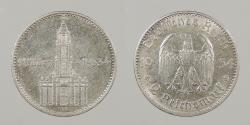 World Coins - GERMANY: 1934-A 2 Marks