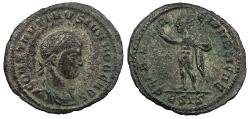 Ancient Coins - Constantine II, as Caesar 317-337 A.D. AE3 Siscia Mint Good VF