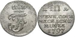 World Coins - GERMAN STATES: Mecklenburg-Schwerin 1797 3 Pfennig