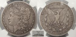 Us Coins - 1889 CC Morgan 1 Dollar (Silver) NGC VF-20