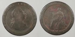 World Coins - GREAT BRITAIN: 1797 Penny