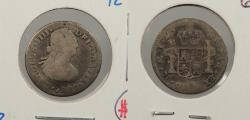 World Coins - MEXICO: 1800-Mo FM Charles IV 1/2 Real