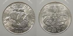 World Coins - PORTUGAL: 1940 10 Escudos