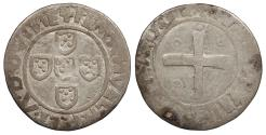 World Coins - PORTUGAL Manuel I, the Fortunate 1495-1521 1/2 Tostao VF