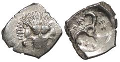 Ancient Coins - Dynasts of Lycia Perikles 390-375 B.C. Tetrobol VF