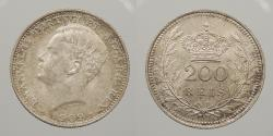 World Coins - PORTUGAL: 1909 200 Reis