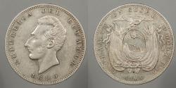 World Coins - ECUADOR: 1890-LIMA TF Sucre