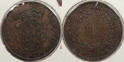 World Coins - PORTUGAL: 1868 3 Reis