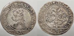 World Coins - SWISS CANTONS: St. Gallen 1624 Rare. 3 Batzen