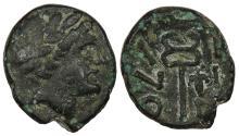 Ancient Coins - Thrace Ainos c. 280-200 B.C. AE19 Good Fine