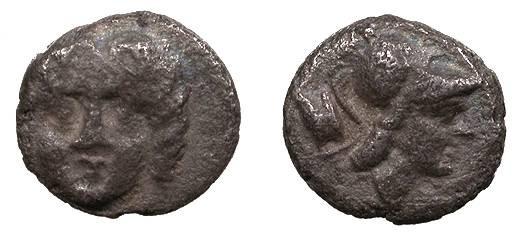 Ancient Coins - Pisidia Selge Circa 3rd century B.C. Trihemiobol VF