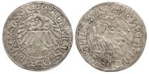 World Coins - GERMAN STATES Silesia-Liegnitz-Brieg (Now in Poland) Friedrich II 1488-1547 Groschen EF