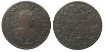 World Coins - LUXEMBOURG Maria Theresa 1757 2 Liards VF