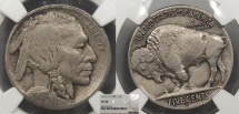 Us Coins - 1913 D Buffalo 5 Cent (Nickel) Type 2 NGC VF-30