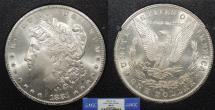 Us Coins - 1881 CC Morgan 1 Dollar (Silver) GSA NGC MS-65