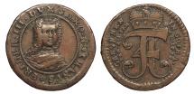 World Coins - GERMAN STATES Saxe-Gotha-Altenburg Friederich III 1735 AE Medalet Good VF