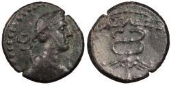 Ancient Coins - Galatia Kings of Galatia Amyntas c. 39-25 B.C. AE16 Near EF