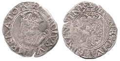 World Coins - FRANCE Besançon Charles V, as Holy Roman Emperor 1530-1556 Blanc 1549 EF