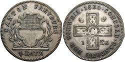 World Coins - SWISS CANTONS: Freiburg 1830 1 Batzen
