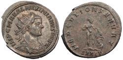 Ancient Coins - Maximianus First Reign: 286-305 A.D. Antoninianus Ticinum Mint Choice EF
