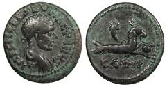Ancient Coins - Mysia Parion (Parium) Macrinus 217-218 A.D. AE23 Nice VF
