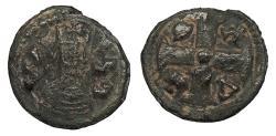 Ancient Coins - Joel (Ioel) c. 550-570 A.D. AE14 VF
