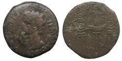 Ancient Coins - Spain Colonia Patricia (Corduba) Augustus 27 B.C. - 14 A.D. Sestertius Fine