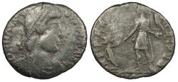 Ancient Coins - Magnus Maximus 383-388 A.D. AE2 Arelate Mint Fine