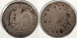 World Coins - MEXICO: 1850-Pi MC Real