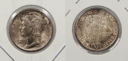 Us Coins - 1916 Mercury 10 Cents (Dime)
