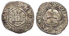 World Coins - ITALIAN STATES Genoa Tommaso di Campofregoso 1436-1442 Soldino EF