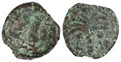 Ancient Coins - Judaea Roman Procurators Marcus Ambibulus, under Augustus 9-12 A.D. Prutah Fine