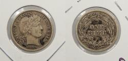 Us Coins - 1909 O Barber 10 Cents (Dime)