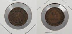 World Coins - NETHERLANDS: 1883 1/2 Cent
