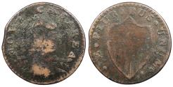 Us Coins - 1787 New Jersey Copper Colonial Coinage Maris 46-e; W-5250 VF