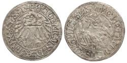 World Coins - GERMAN STATES Silesia-Liegnitz-Brieg (Now in Poland) Friedrich II 1488-1547 Groschen ND (Ca 1505) EF