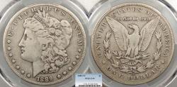 Us Coins - 1889 CC Morgan 1 Dollar (Silver) PCGS F-15