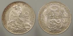 World Coins - PERU: 1934 Sol