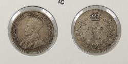 World Coins - CANADA: 1929 10 Cents