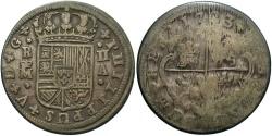 World Coins - SPAIN: Felipe V 1723 M 2 Reales