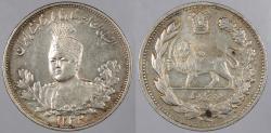 World Coins - IRAN: AH 1332 (1914) 2000 Dinars