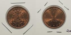 World Coins - INDIA: 1952 Tanga
