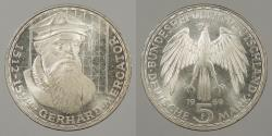 World Coins - GERMANY: West Germany 1969-F 5 Mark