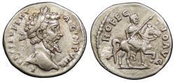 Ancient Coins - Septimius Severus 193-211 A.D. Denarius Laodicea ad Mare Mint Good VF