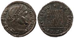 Ancient Coins - Constantine I, the Great 307-337 A.D. Follis Siscia Mint Superb EF
